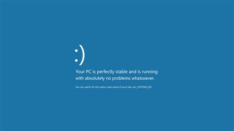 blue screen  death microsoft windows motivational