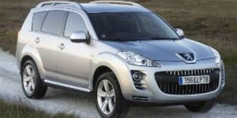 peugeot 4007 review specification price caradvice