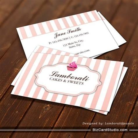 Rolling Pin And Whisk Business Card Template Pink by Best 25 Bakery Business Cards Ideas On Bakery