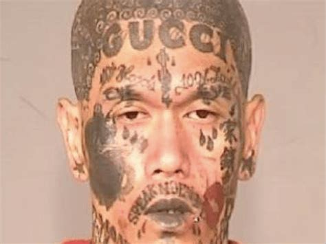 gucci face tattoo with gucci busted in fresno breitbart