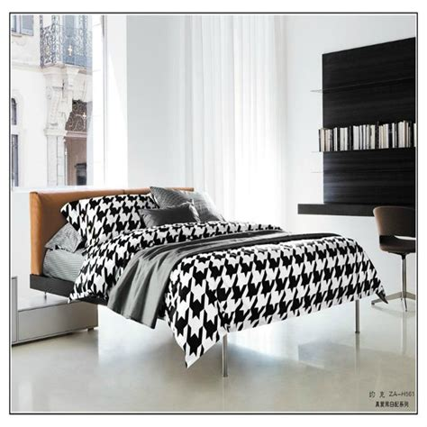black and white pattern bed sheets aliexpress com buy black and white horseshoe pattern