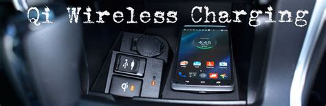 how to use the toyota qi wireless charging feature