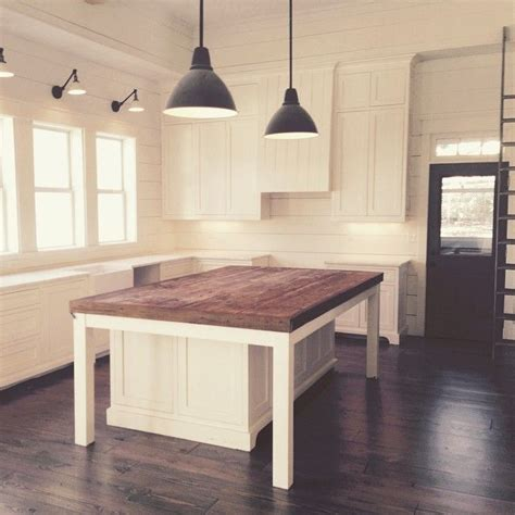 wood kitchen island table 17 best ideas about kitchen island on