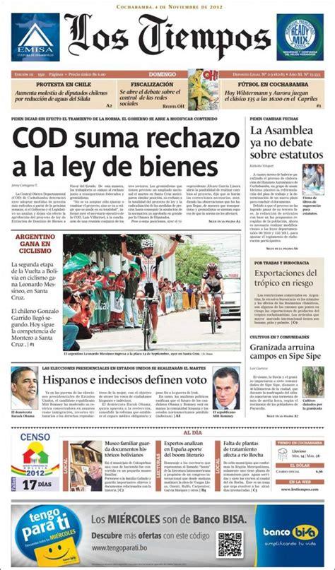 hemeroteca buscar noticias los tiempos peri 243 dico los tiempos bolivia peri 243 dicos de bolivia