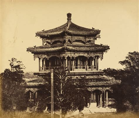 Beijing China Original file felice beato born italy the great imperial palace yuan ming yuan before the