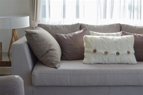 sofa bed cushions firm up frumpy sofa cushions with this trick simplemost