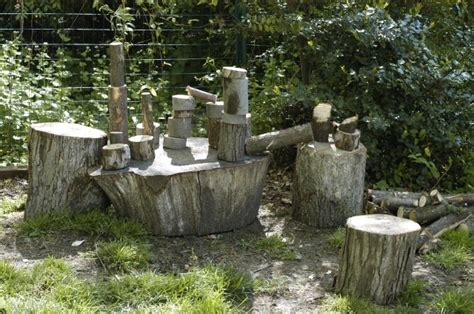 backyard playscape designs outdoor playscape ideas from old logs try to make