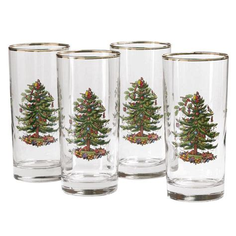 spoce christmas tree casual glassware