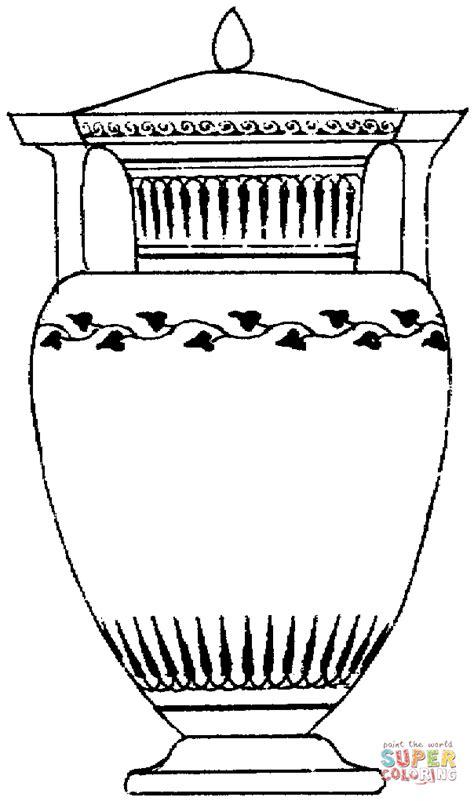 greek vases coloring page coloriage vase grec antique coloriages 224 imprimer gratuits