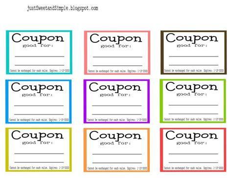 template coupon book template the best ideas madinbelgra book making