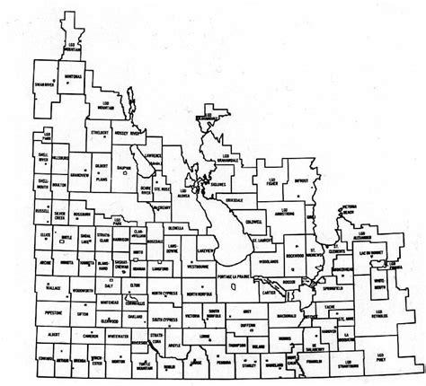 Manitoba Lookup Timelinks Map Of Manitoba Municipalities
