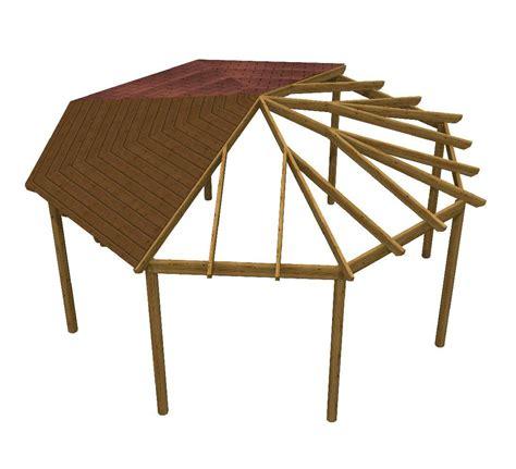 montaggio gazebo in legno gazebo pergola in kit octogonal copertura con tegola