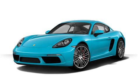 miami blue porsche 718 porsche 718 cayman 2018 couleurs colors