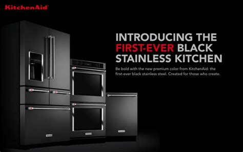 kitchen appliances trend black is the new black newest kitchen remodel trend black stainless steel
