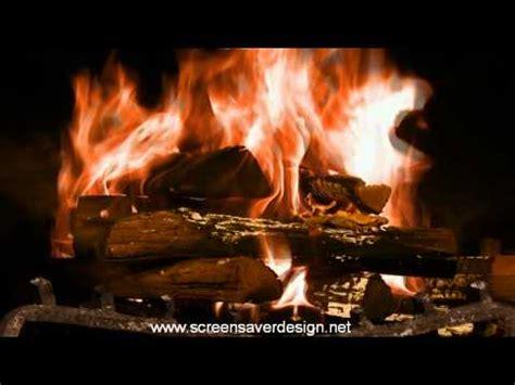 Burning Fireplace Screensaver by Screensaver Fireplace