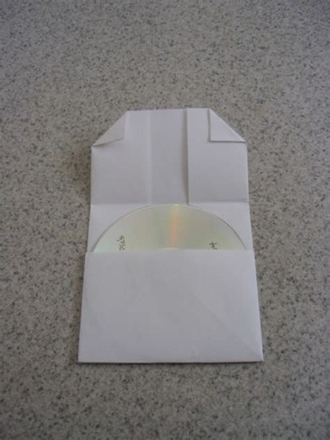 Fold Paper Cd - how to make a folded paper cd i to cook