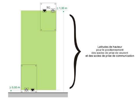 hauteur prise de courant chambre tout savoir sur les normes 233 lectriques fran 231 aises