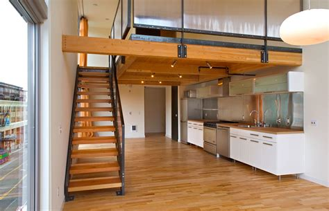 Inter Stairs And Kitchen Design Agnes Lofts Weinstein Au Architects Designers Llc