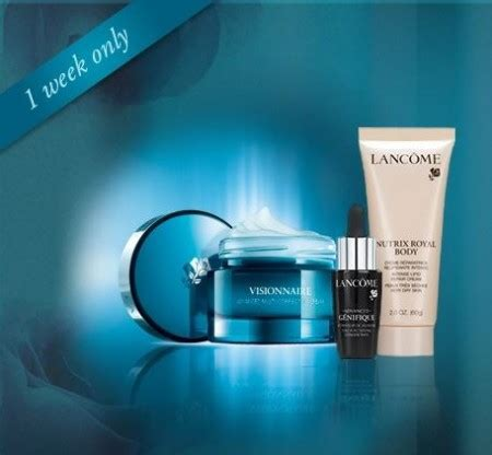 Lancome Giveaway - win lancome visionnaire cream set free stuff finder canada