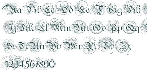 Old English Script Font Generator Loading