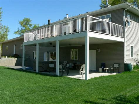 walkout basement backyard ideas patio cover ideas for walkout basements deck pinterest