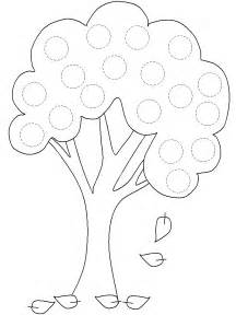 Tree Templates by Free Printable Tree Template Az Coloring Pages