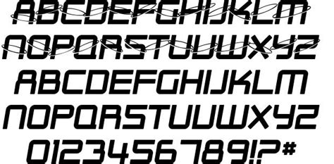 Outer Personal Style P S sf outer limits font by shyfonts fontriver