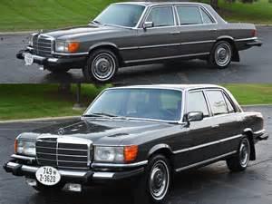 Mercedes 450 Sel Retrospect 1976 Mercedes 450 Sel Notoriousluxury
