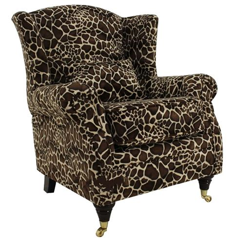 giraffe high chair wing chair fireside high back armchair giraffe