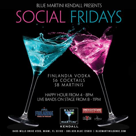blue martini menu best upscale bars with live entertainment kendall miami