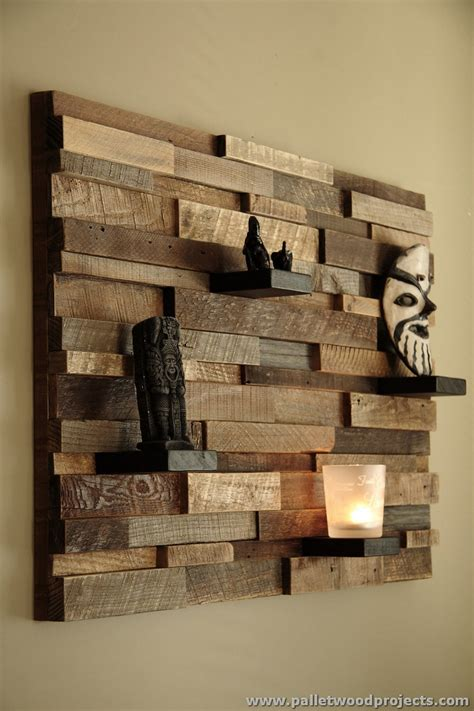 decorative wood shelves decorative pallet wall shelves pallet wood projects