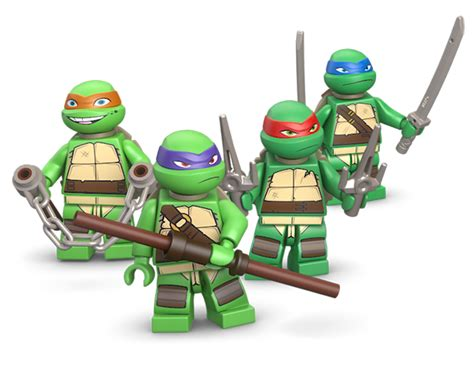 Lego Turtle by Tmnt Legos Now Appearing In Stores