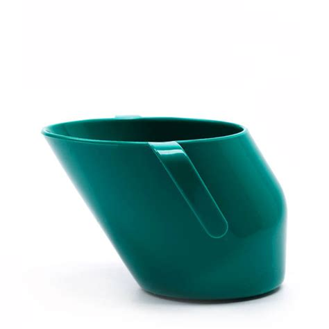 Doidy Cup Green doidy cup uniquely slanted cup for infants