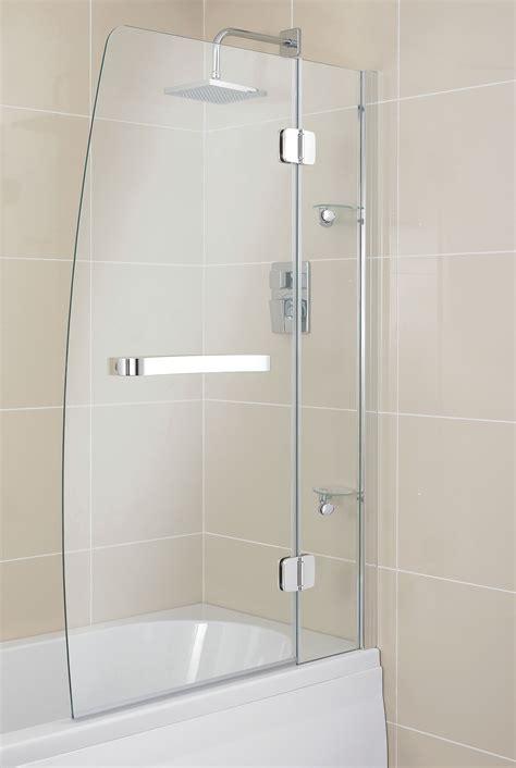 b q shower screens bath b q semi framed bath screen w 750mm departments diy