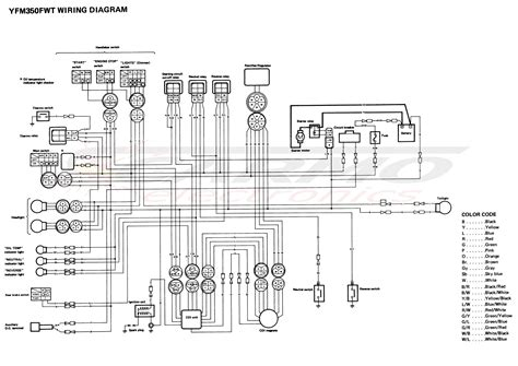moto 4 yfm350ert wiring diagram wiring diagram with