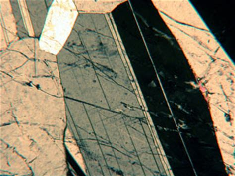 plagioclase in thin section plagioclase