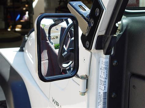 Jeep Doorless Budget Mirror Mount