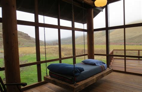 Cushions For Patio Swing 12 Diy Swing Bed Ideas To Enjoy Floating In Mid Air Homecrux