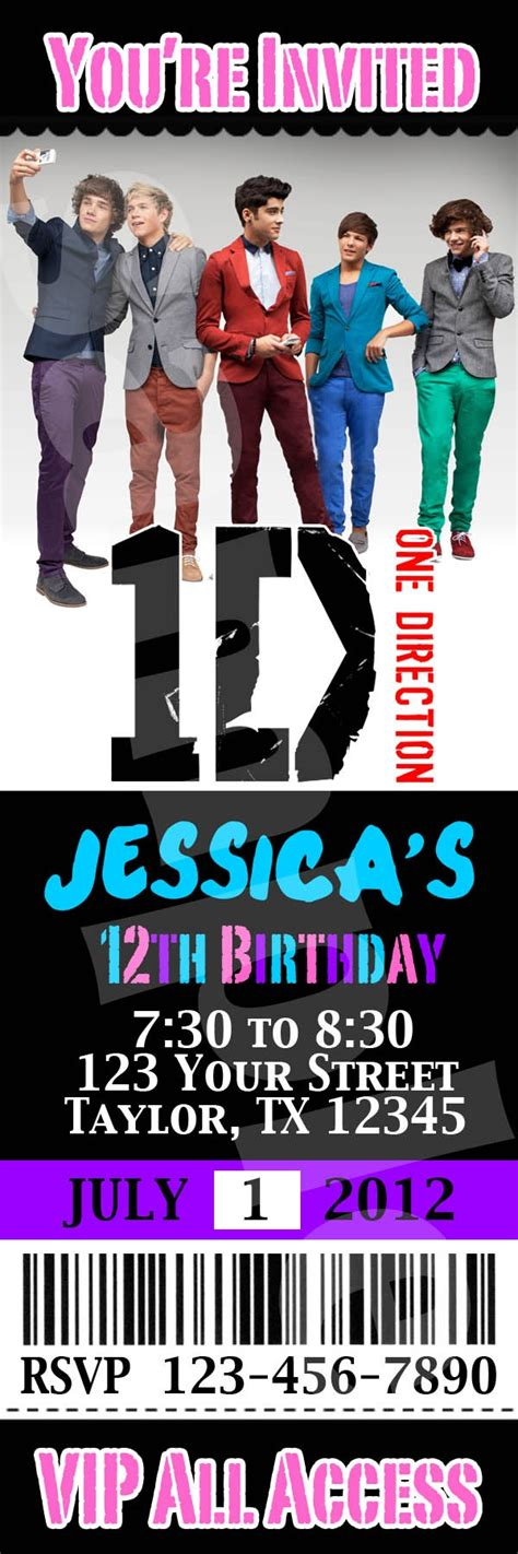 printable birthday cards one direction 17 best images about birthday ideas on pinterest themed