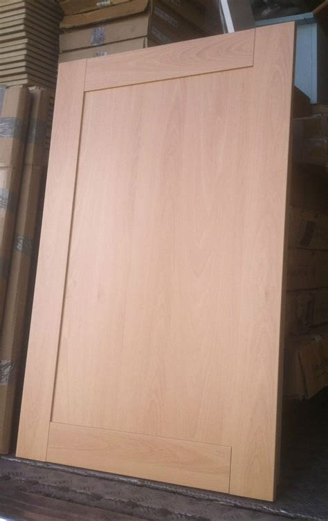 Beech Kitchen Cabinet Doors Howdens Lyndhurst Shaker Beech Kitchen Cupboard Door Drawer Fronts Plinths Ebay
