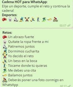 cadenas whatsapp argentina retos para whatsapp chistes pinterest estados para