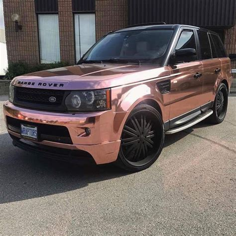 white and gold range rover rose gold range rover ριηтєяєѕт gottalovedesss r i d e