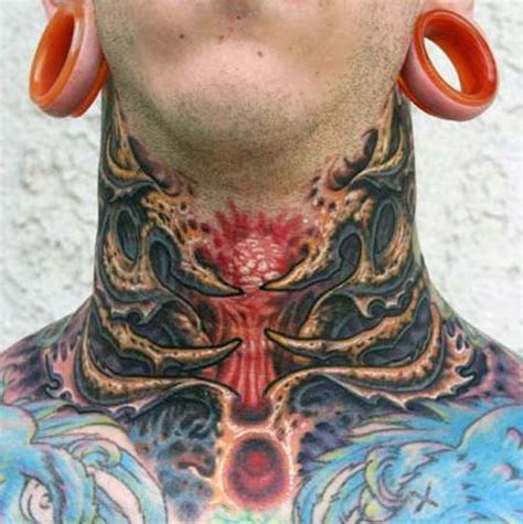 neck tattoo rules 67 adorable japanese neck tattoos