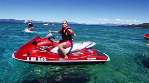 ski run boat company emerald bay jet ski tour in lake tahoe with ski run boat