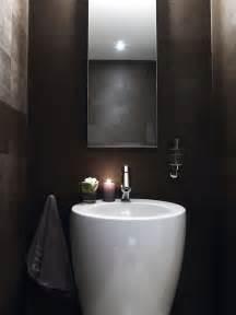 Small Powder Room Sink Small Powder Room Modern Bathroom
