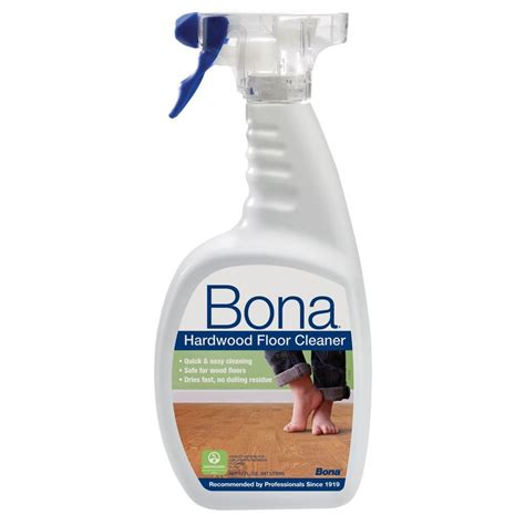 bona 32 oz hardwood cleaner wm700051171 the home depot