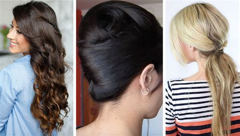 hacks for hairstyles 4 styling hacks for girls with thick hair