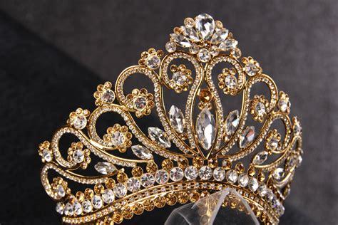 wedding tiaras and crowns princess tiara crown tiaras for wedding crystal gold by