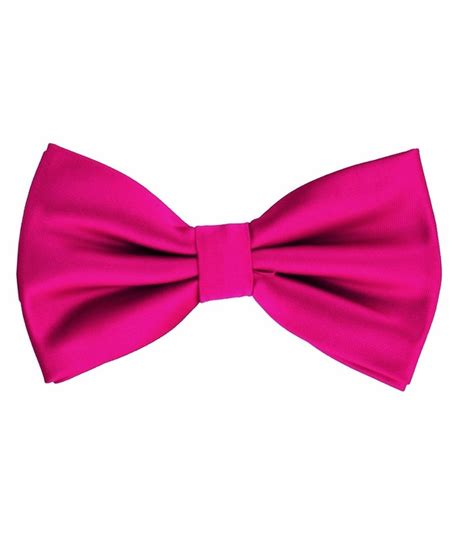 Set U Can See Bow Pink pink bow tie and pocket square set bt100 k