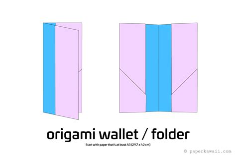 How To Make An Origami Letter - easy origami wallet
